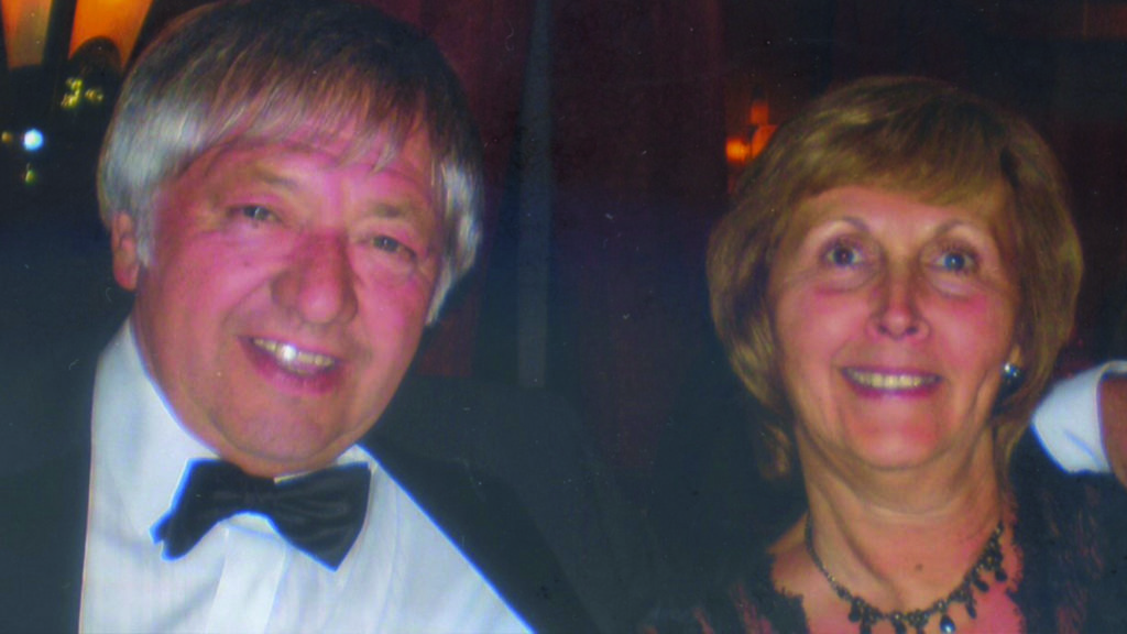 Kay's husband, Alan, did not have the benefit of a lung cancer nurse specialist