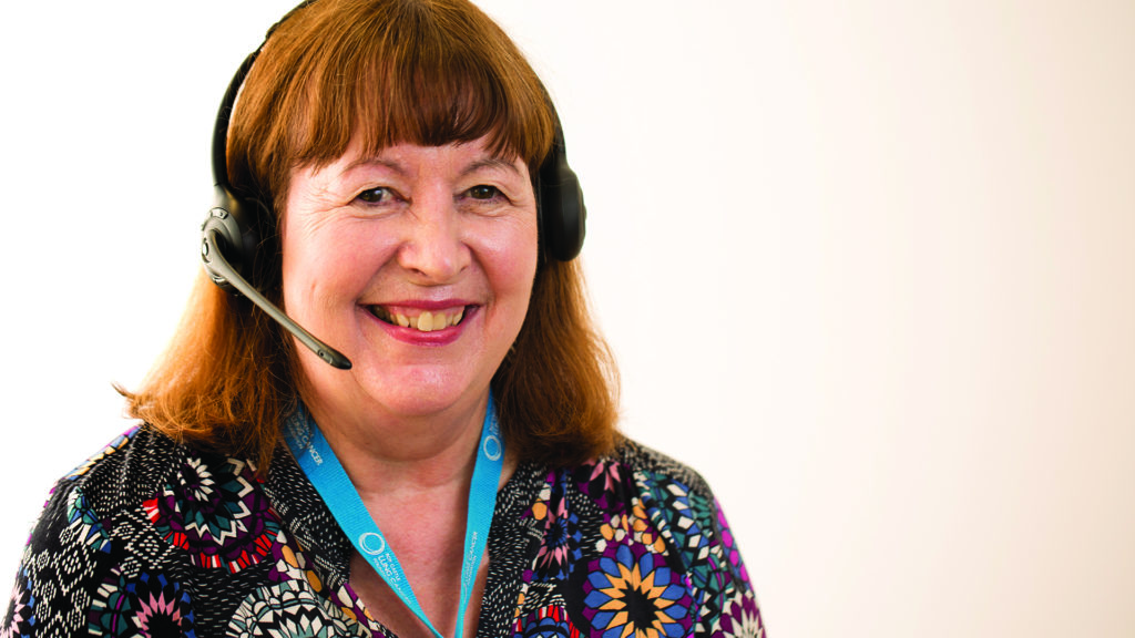 ask the nurse lung cancer helpline