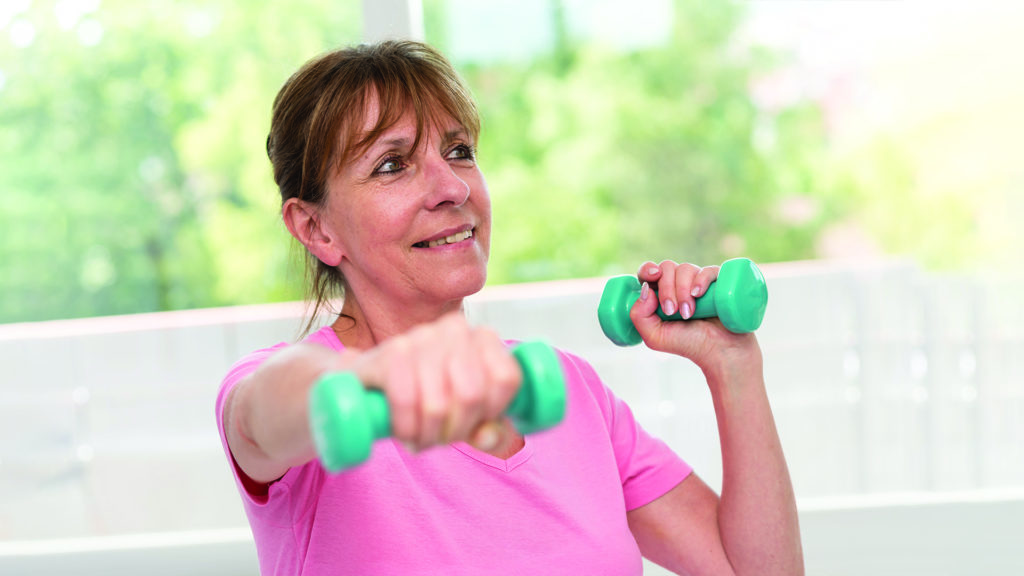 Regular exercise reduces your risk of developing cancer, including lung cancer