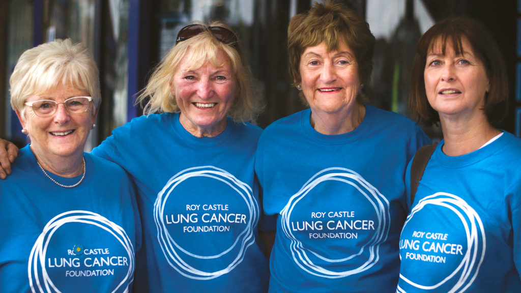 Fundraising for lung cancer