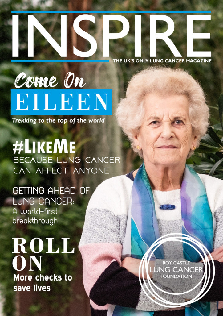 inspire magazine - cover