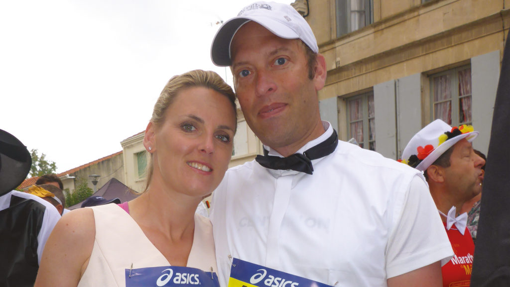 Lucy ran marathons with stage 4 lung cancer