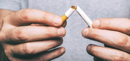 Smokers who have been treated for breast cancer have increased risk of getting lung cancer