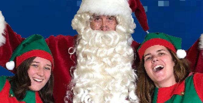 Santa's singalong volunteers