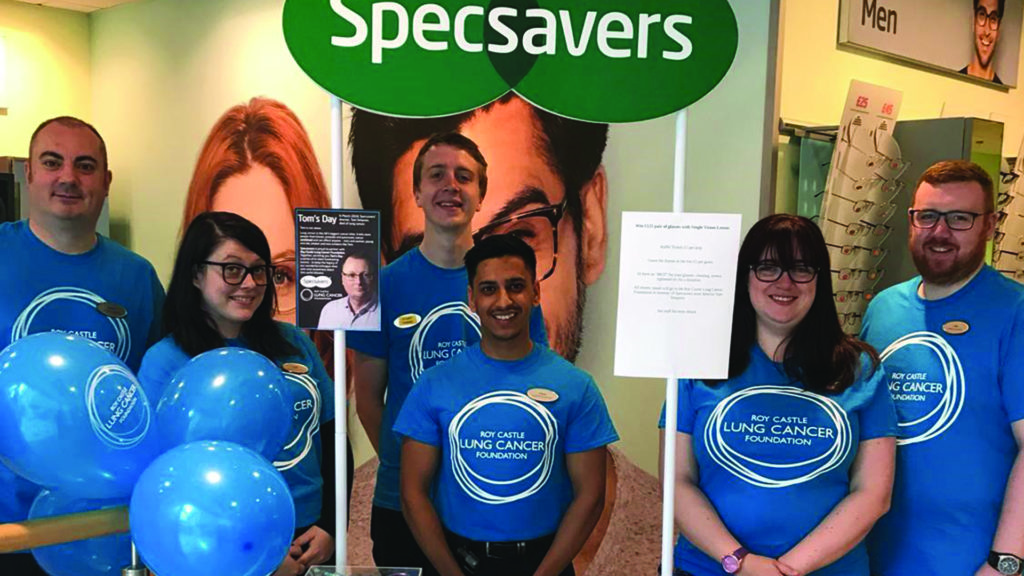 Specsavers is one of our corporate partners