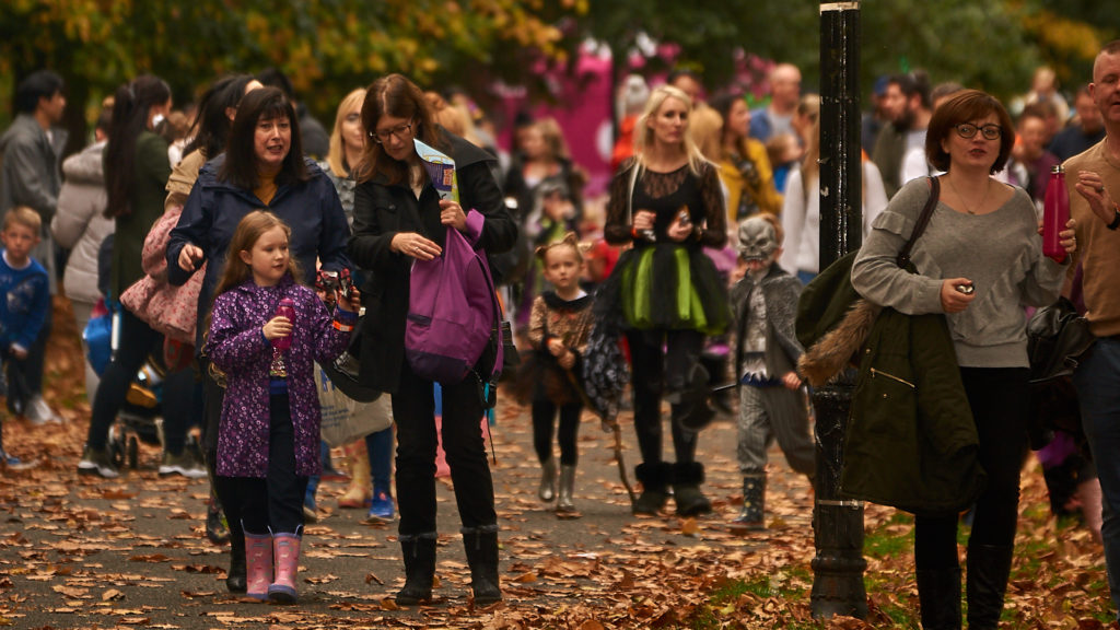Spooky welly walk birmingham FAQ