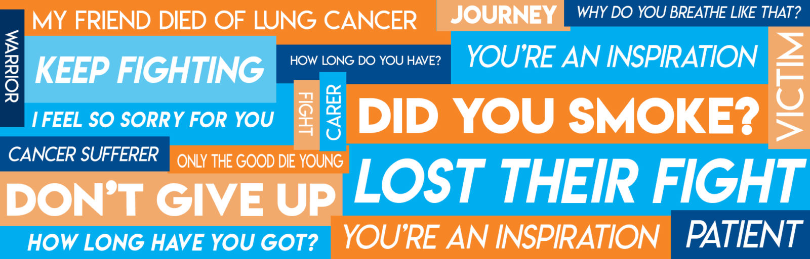 Top 10 most outrageous things said to someone with lung cancer