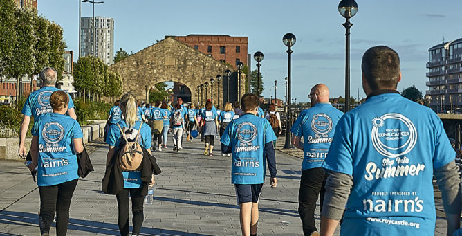 Step Into Summer Liverpool Volunteers