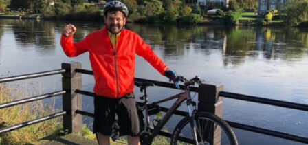 Andy McKay: Cycling with lung cancer and brain mets